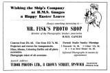 1964 - JIM WORLDING, MR. FISK'S ADVERT IN A SHOTLEY MAGAZINE.jpg