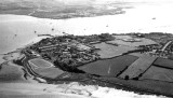1970's -  JIM EMPSON, AERIAL VIEW PHOTO, SHOWING GANGES, SHOTLEY GATE AND HARWICH HARBOUR ETC..jpg