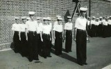 1961, AUGUST - VINCE CASHMORE, ANSON DIVISION PIPING PARTY, I AM REAR RANK LEFT.jpg