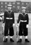 1967, 14TH AUGUST - RAY LESTER WITH NIGEL GUBB ON LEFT, 95 RECR., BOTH FROM BRISTOL.jpg