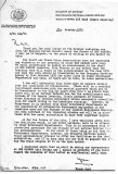 1975, 23RD OCTOBER - DICKIE DOYLE, MOD LETTER REGARDING CLOSURE AND FUTURE OF HMS GANGES