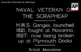 Famous Man O War Broken Up. HMS Ganges.