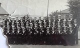 1954, 16TH MARCH-1955, 15TH AUGUST - PHILLIP KENNEDY, RODNEY, 392 CLASS, CPO TEL RAVEN, BRUCE KENNEDY IS FRONT ROW 3RD FROM LEFT