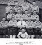 1949 - DICKIE DOYLE, CHRISTMAS, 202 CLASS, WINNERS OF THE SENIOR W.T. EFFICENCY COMPETITION, INSTR. PO TEL RAVEN