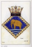 1927, 18TH NOVEMBER - DICKIE DOYLE, ADMIRALTY APPROVED BADGE.jpg