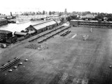 1950 - DICKIE DOYLE, AN AERIAL VIEW OF THE K.B.R. ON THE UPPER PLAYING FIELD.jpg