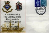1971, 27TH JULY - DICKIE DOYLE, FIRST DAY COVER, GRANTING HMS GANGES THE FREEDOM OF THE BOROUGH OF IPSWICH.jpg