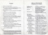 1950 - DICKIE DOYLE, PROGRAMME FOR THE KINGS BIRTHDAY REVIEW, I WAS IN NO.12 PLATOON, B
