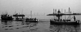 UNDATED - DICKIE DOYLE, CUTTERS BEING TOWED ON THE STOUR.jpg