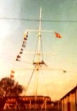 1972, APRIL-JULY - STUART LUCAS, R.O. [G], THE MAST, [PERHAPS A BUNTING CAN EXPLAIN THE FLAG HOISTS].jpg