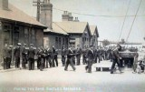 UNDATED - PAYING THE BOYS, ON THE QUARTER DECK, SHOTLEY BARRACKS