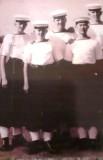 1966, 26TH APRIL - NEIL CARHART, 84 RECR., FROBISHER, 733 CLASS L-R, MYSELF, CRISP, DENNIS LEONG AND JOHN HAYES