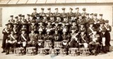 1936 -  JOHN CUMMINS, THE BAND, JOHN IS 7TH FROM LEFT SECOND ROW FROM TOP.jpg