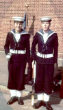 1972, 27TH NOVEMBER - GEORGE REEKIE, 40 RECR., ANSON, 23 MESS, LCW, WITH JAMES CUNNINGHAM TWIN BROTHER OF JOHN CUNNINGHAM