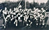 1962 - DAVID BRIGHTON, COLLINGWOOD'S FIELD GUN TEAM, I AM THE BIG CHAP, FRONT ROW, WITH THE CAP ON,