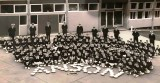 1965 - JEFF C. LITTLE, ANSON DIVISION, I AM FRONT ROW, 5TH FROM LEFT, NEXT TO ME IS BARRY GEORDI LORD WITH THE BEST MESS TROPHY