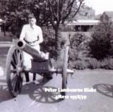 1958-59 - PETER 'FLOGGER' LAMBOURNE, 16 RECR., BLAKE, 4 MESS, 15 CLASS, A.