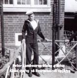 1958-59 - PETER 'FLOGGER' LAMBOURNE, 16 RECR., BLAKE, 4 MESS, 15 CLASS, B.