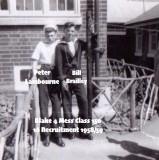 1958-59 - PETER 'FLOGGER' LAMBOURNE, 16 RECR., BLAKE, 4 MESS, 15 CLASS, C.