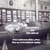 1958-59 - PETER 'FLOGGER' LAMBOURNE, 16 RECR., BLAKE, 4 MESS, 15 CLASS, D.