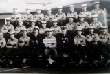 1970, FEBRUARY - ALLAN SMITH, 16 RECR., ANNEXE, DREADNOUGHT, INSTR. CPO DOMMERSNES, I AM 1st LEFT MIDDLE ROW..jpg