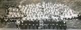 1952-53 - DAVID PERCIVAL, BENBOW DIVISION, DO LT. GOSSAGE, 2ND DO COM. GNR.FREEMAN,