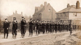 UNDATED - JIM WORLDING, FUNERAL PROCESSION PASSING SHOTLEY POST OFFICE.