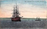 1900 - CHRIS THEOBALD, HMS GANGES, A POST CARD IN COLOUR BY VALENTINE.jpg