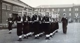 1958, 11TH FEBRUARY - ADRIAN CROSS, HAWKE AND THEN DUNCAN DIVISIONS, 212/222 CLASSES, GUARD AT FRIDAY DIVISIONS, E
