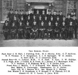 1934 - JIM WORLDING, THE SCHOOL AND SCHOOL STAFF, FROM THE SHOTLEY MAG..jpg