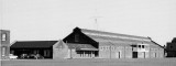 POST 1945 - DICKIE DOYLE, PARADE GROUND RIFLE STORE, PARADE GROUND OFFICE AND NELSON HALL VIEWED FROM THE PLAYING FIELD
