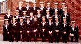 1975, 5TH AUGUST 5TH -  PETE FROST, RESOLUTION, 873 CLASS, I AM 3RD FROM LEFT FRONT ROW, PAUL HEWARD 2ND FROM LEFT 2ND ROW,  A.