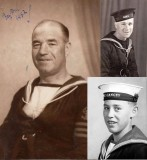 1961 SEPTEMBER - BRIAN TORODE, 3 GENERATIONS, SEE NOTE BELOW PHOTO..jpg