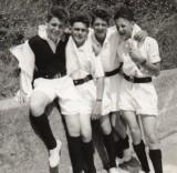 1957 - DAVID GARDNER, L-R, MYSELF, D. BUTLER, PERHAPS RUTLAND, D. RICHARDS, J..jpg