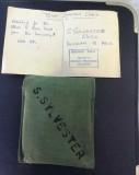 1965, 29TH SEPTEMBER - STEVE SYLVESTER, 79 RECR., DUNCAN, 60 CLASS, 10 MESS, INSTR. PO DRABBLE, TEMP. STATION CARD.jpg