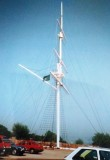 c1995 - JOHN BYRNE, THE MAST WHILST THE ESTABLISHMENT WAS BEING USED AS A POLICE TRAINING COLLEGE.jpg