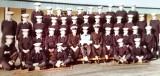1972, NOVEMBER - IAN STEVENS, THE J.I. HOLDING THE BOARD, ANNEXE, 40 RECR., LEANDER, SEE NOTE BELOW FOR SOME NAMES.jpg
