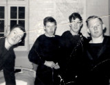 1965, 24TH MAY - RAY LAVALL, L TO R, UNKNOWN, ROD IRVINE, RAY LAVALL AND PAUL E. SMITH.jpg