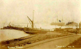 c1902-04 - JIM WORLDING, ADMIRALTY PIER WITH HMS GANGES II AND SHOTLEY PIER IN THE BACKGROUND.jpg