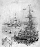 c1926 - HMS GANGES BY W L WYLLIE.jpg