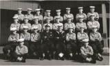 1960, 15TH MARCH - BERNARD EMSLIE, 30 RECR., COLLINGWOOD, 45 MESS, 63 CLASS, ANNEXE PHOTO, CPO POTTEN, I AM 1ST ROW FAR RIGHT. 1