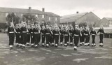 1960, 15TH MARCH - BERNARD EMSLIE, 30 RECR., COLLINGWOOD, 45 MESS, 63 CLASS, GUARD MARCH PAST, PASSING OUT PARADE, 5.