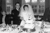 1966-67 - PHILLIP LAWRENCE WHITEMAN, KEPPEL, 4 MESS, PO DARBY ALLEN'S WEDDING, 3 OF US WERE CHOSEN AS GUARD OF HONOUR. C.