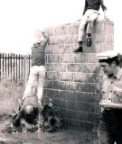 1975 - GERARD GROUT, TAKING LOCAL SCHOOL CHILDREN THROUGH THE GANGES ASSAULT COURSE.jpg