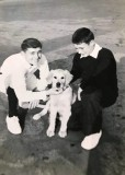 1965 - DENIS HESKETT, COLLINGWOOD, CLASSES 244-245, PO JONES AND YEO. MORRIS, THE SUB. D.O.s  DOG, LAD NAMED TAFFY IS ON THE LEF