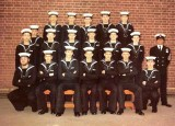 1974, DECEMBER-1975, JANUARY - DEREK KELLY, I AM FAR LEFT IN THE MIDDLE ROW, OFFICIAL NO. D147371A.jpg
