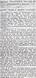 1948, 14TH OCTOBER - DICKIE DOYLE, GORDON LINDSEY, REPORT FROM THE TIMES.jpg