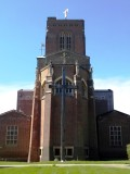 2020, APRIL - JIM WORLDING, PHOTO OF THE GANGES CROSS OUTSDIE GUILDFORD CATHEDRAL, SURREY, SEE BELOW.jpg