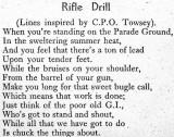 1949, SUMMER - DICKIE DOYLE, RIFLE DRILL, EXTRACT FROM THE SHOTLEY MAG..jpg