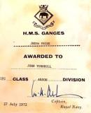 1972, 27TH JULY - JOHN TURNBULL, ANSON, 191 CLASS, JMEMs PRIZE.jpg